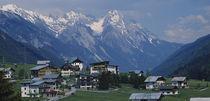 High  St. Anton, Austria von Panoramic Images