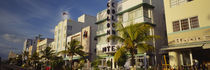 Facade of a hotel, Art Deco Hotel, Ocean Drive, Miami Beach, Florida, USA by Panoramic Images