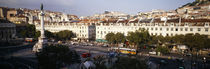 High angle view of a city, Lisbon, Portugal by Panoramic Images