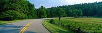 Panorama Print - Blue Ridge Parkway NC von Panoramic Images