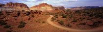 Desert Road, Utah, USA by Panoramic Images