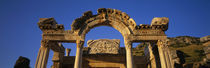 Turkey, Ephesus, temple ruins by Panoramic Images