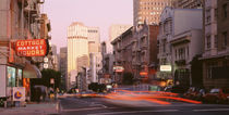 USA, California, San Francisco, Evening Traffic by Panoramic Images