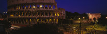 Panorama Print - Italien, Rom, Colosseum von Panoramic Images