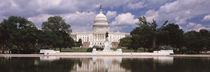 Government building on the waterfront, Capitol Building, Washington DC, USA by Panoramic Images