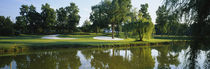 Lake on a golf course, Tantallon Country Club, Fort Washington, Maryland, USA von Panoramic Images