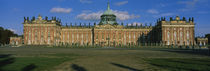 Facade Of A Palace, Sanssouci Palace, Potsdam, Germany by Panoramic Images