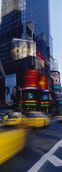 Traffic on a street, Times Square, Manhattan, New York City, New York State, USA von Panoramic Images
