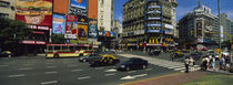 Vehicles Moving On A Road, Buenos Aires, Argentina by Panoramic Images
