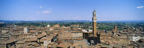 Siena Campo Tuscany Italy by Panoramic Images