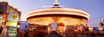 Man at Amusement Park Stuttgart Germany by Panoramic Images