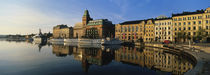 Reflection Of Buildings On Water, Stockholm, Sweden by Panoramic Images