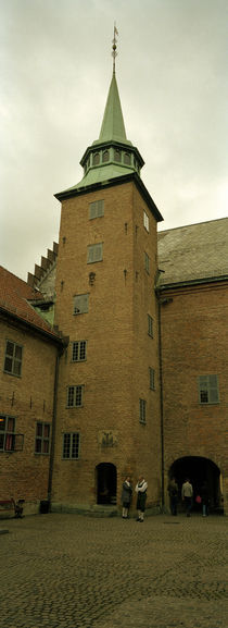 Low angle view of a fortress, Akershus fortress, Oslo, Norway by Panoramic Images