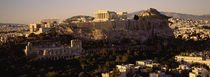 High angle view of a cityscape, Athens, Greece by Panoramic Images