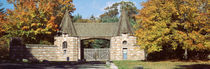 Acadia National Park, Jordan Pond Gatehouse, Facade of a building by Panoramic Images