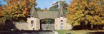 Acadia National Park, Jordan Pond Gatehouse, Facade of a building von Panoramic Images
