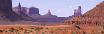 View To Northwest From 1st Marker In The Valley, Monument Valley, Arizona, USA, by Panoramic Images