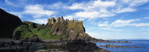 Dunluce Castle, Antrim, Ireland von Panoramic Images