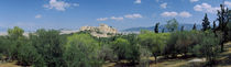 Ruins of a temple, Acropolis Of Athens, Athens, Greece von Panoramic Images