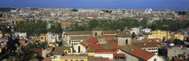 High angle view of a cityscape, Rome, Lazio, Italy von Panoramic Images