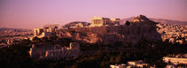 High angle view of a cityscape, Athens, Greece von Panoramic Images