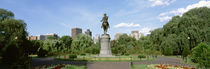 Statue in a garden, Boston Public Gardens, Boston, Massachusetts, USA by Panoramic Images