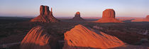 Sunset At Monument Valley Tribal Park, Utah, USA by Panoramic Images