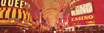 Fremont St Experience, Las Vegas, NV von Panoramic Images