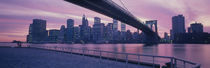 Brooklyn Bridge New York NY von Panoramic Images