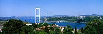 Panorama Print - Bosporus-Brücke, Istanbul, Türkei von Panoramic Images