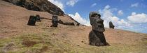 Rano Raraku, Easter Island, Chile by Panoramic Images