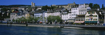 Buildings at the waterfront, Zurich, Switzerland by Panoramic Images