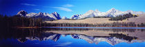 Little Redfish Lake Mountains ID USA von Panoramic Images