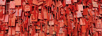 Prayer offerings at a temple, Dai Temple, Tai'an, China von Panoramic Images