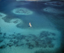 sea over coral reefs, near Isla Palominitos, Puerto Rico by Panoramic Images