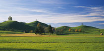 Hills on a landscape, Canton of Zug, Switzerland von Panoramic Images