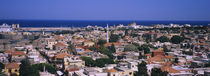 High angle view of a city, Rhodes, Greece von Panoramic Images