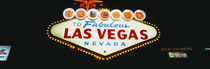 Close-up of a welcome sign, Las Vegas, Nevada, USA von Panoramic Images