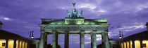 Low Angle View Of The Brandenburg Gate, Berlin, Germany by Panoramic Images