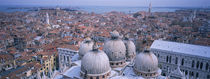 High angle view of buildings in a city, Doges Palace, Venice, Italy by Panoramic Images