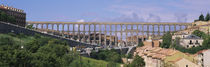 Road Under An Aqueduct, Segovia, Spain by Panoramic Images