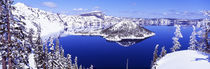 Panorama Print - USA, Oregon, Crater Lake Nationalpark von Panoramic Images
