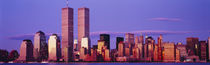 Skyscrapers in a city, Manhattan, New York City, New York State, USA by Panoramic Images