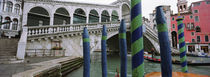 Arch bridge across a canal, Rialto Bridge, Grand Canal, Venice, Italy by Panoramic Images