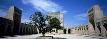 Courtyard of a mosque, Kalon Mosque, Bukhara, Uzbekistan by Panoramic Images
