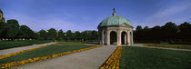 Pavilion for the Goddess Diana in a garden, Hofgarten, Munich, Bavaria, Germany von Panoramic Images