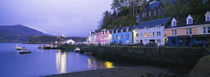 Buildings On The Waterfront, Portree, Isle Of Skye, Scotland, United Kingdom by Panoramic Images