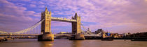 Tower Bridge London England by Panoramic Images