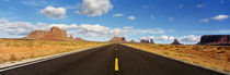 Road, Monument Valley, Arizona, USA by Panoramic Images