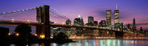 Brooklyn Bridge New York NY USA by Panoramic Images